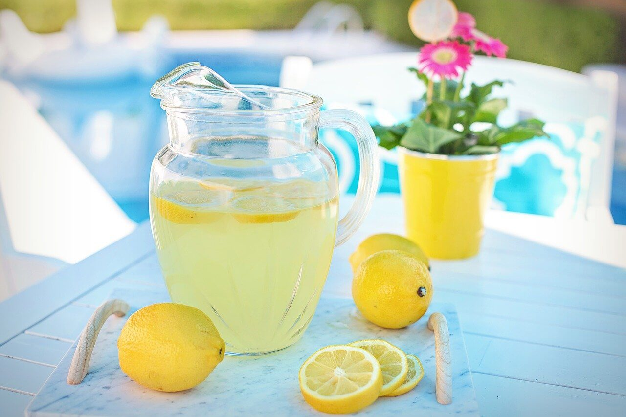 Limonádé készítés