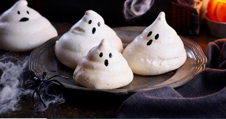 Halloween-i habcsók szellem